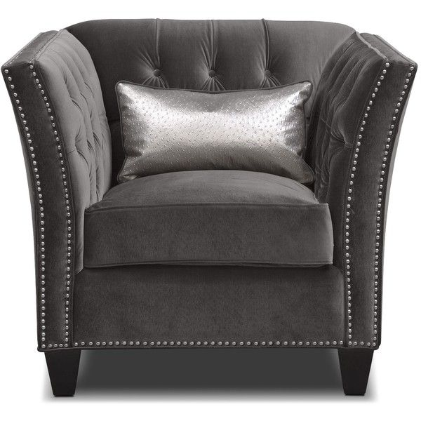 Best Nicole Charcoal Chair 700 Liked On Polyvore Featuring 400 x 300