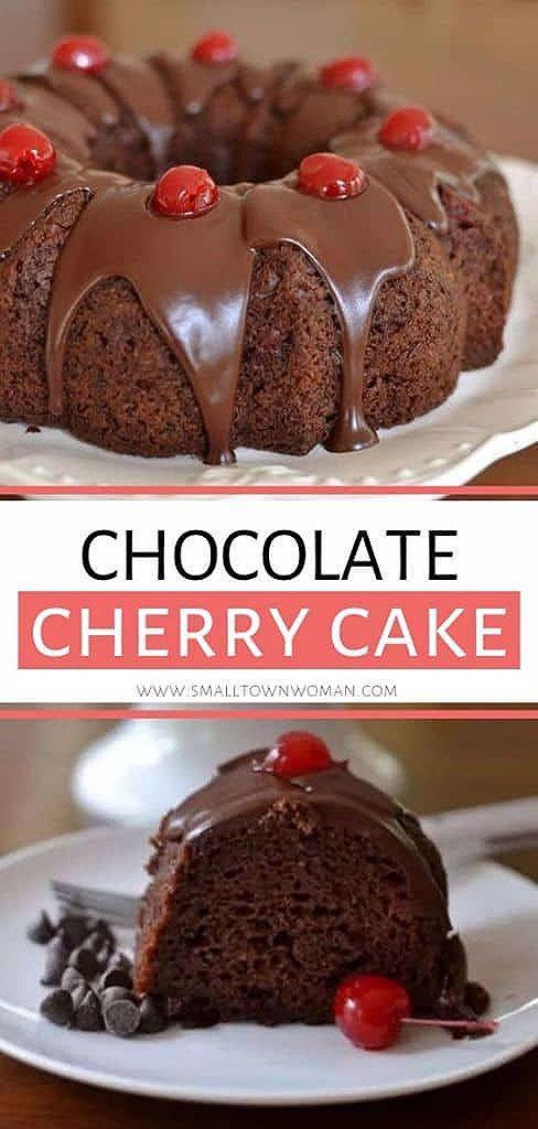 Photo of Chocolate Cherry Cake