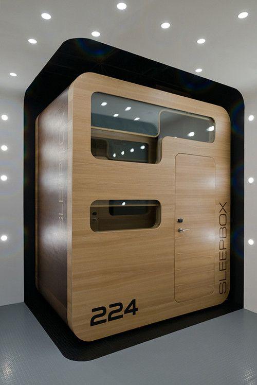 Sleepbox Hotel Arch Group Future Capsule Futuristic Interior Moscow