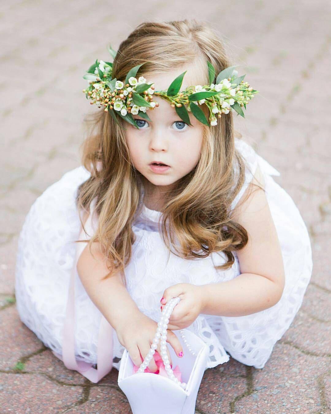 Flower girl flower crown berminghamtobe pinterest wedding flower girl flower crown izmirmasajfo