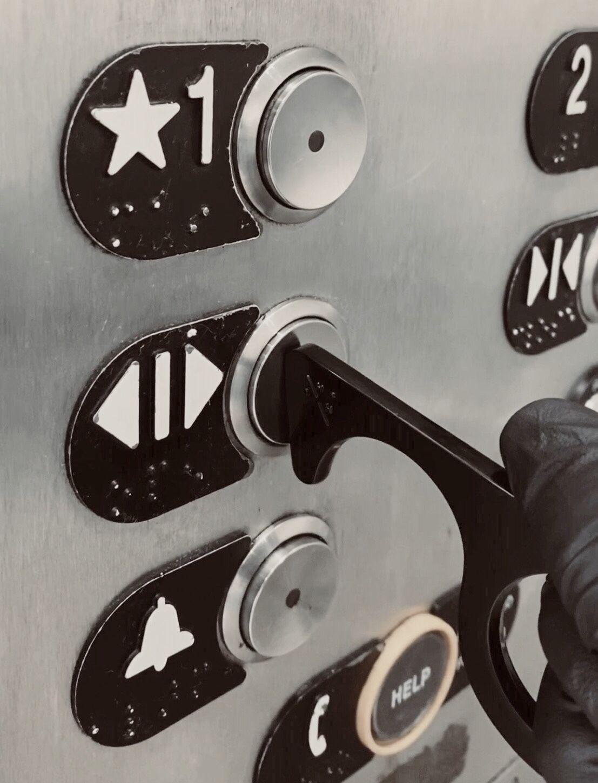 Elevator buttons in 2020 door handles handle hook hook