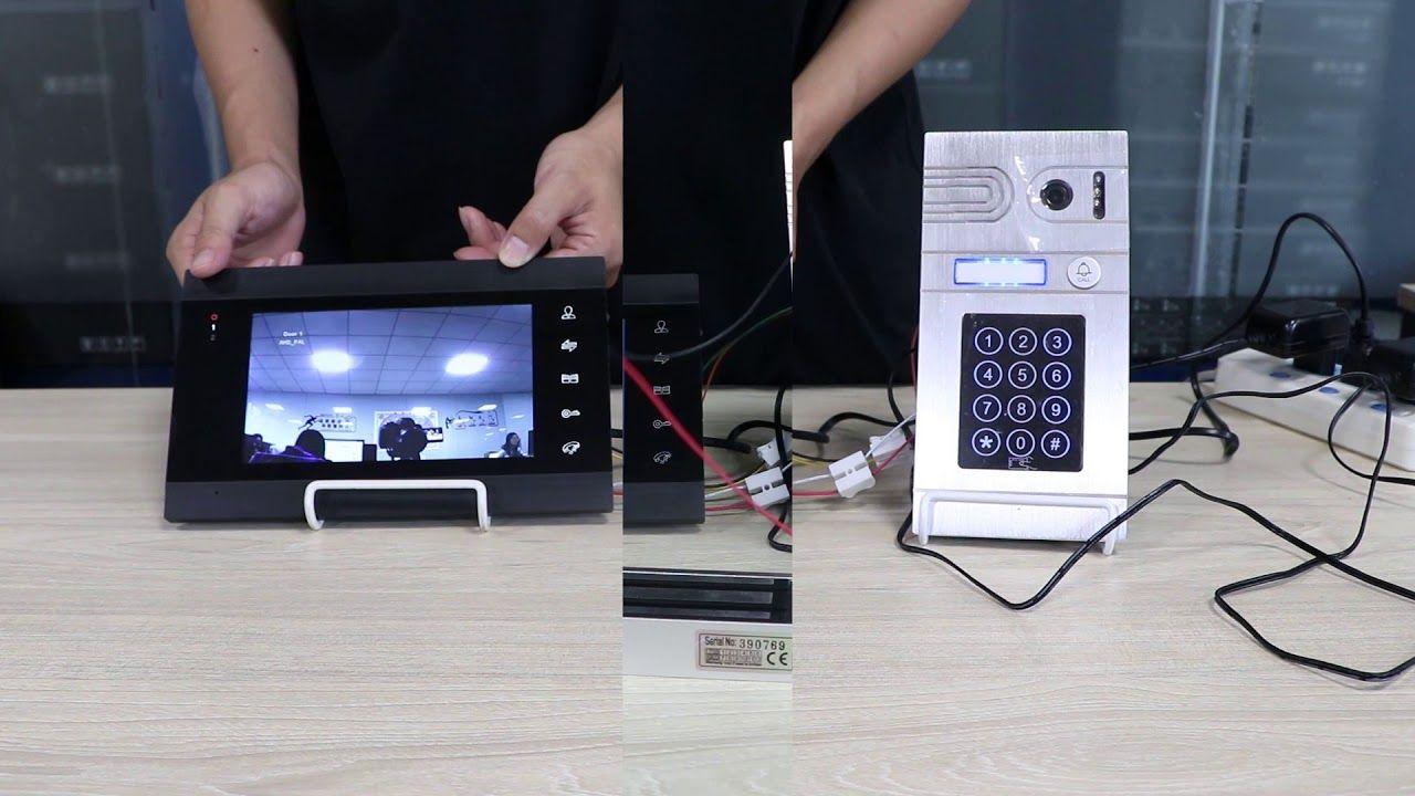 JeaTone Visiophone Filaire Interphone Vidéo PortierVidéo 86706+84211 Wir...