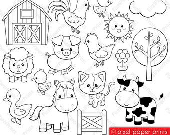 Sea Animals Digital Stamps Clipart Card Pinterest 유아 미술