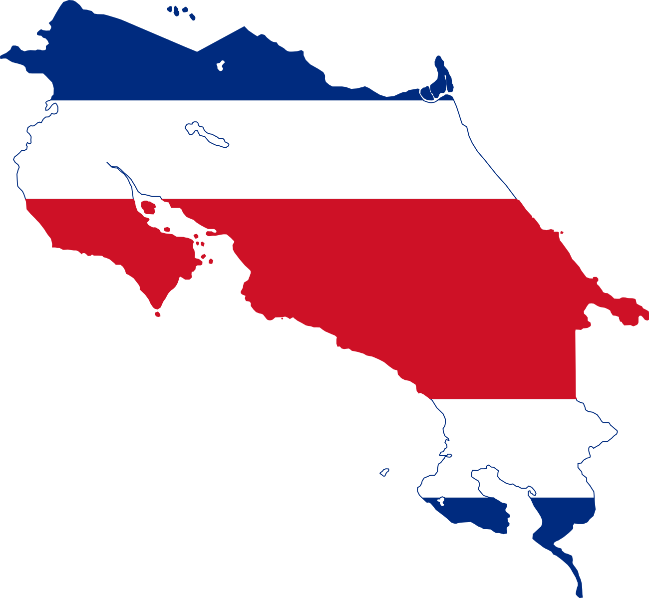 File Map And Flag Of Costa Rica Svg Wikimedia Commons Costa Rica Flag Flag Costa