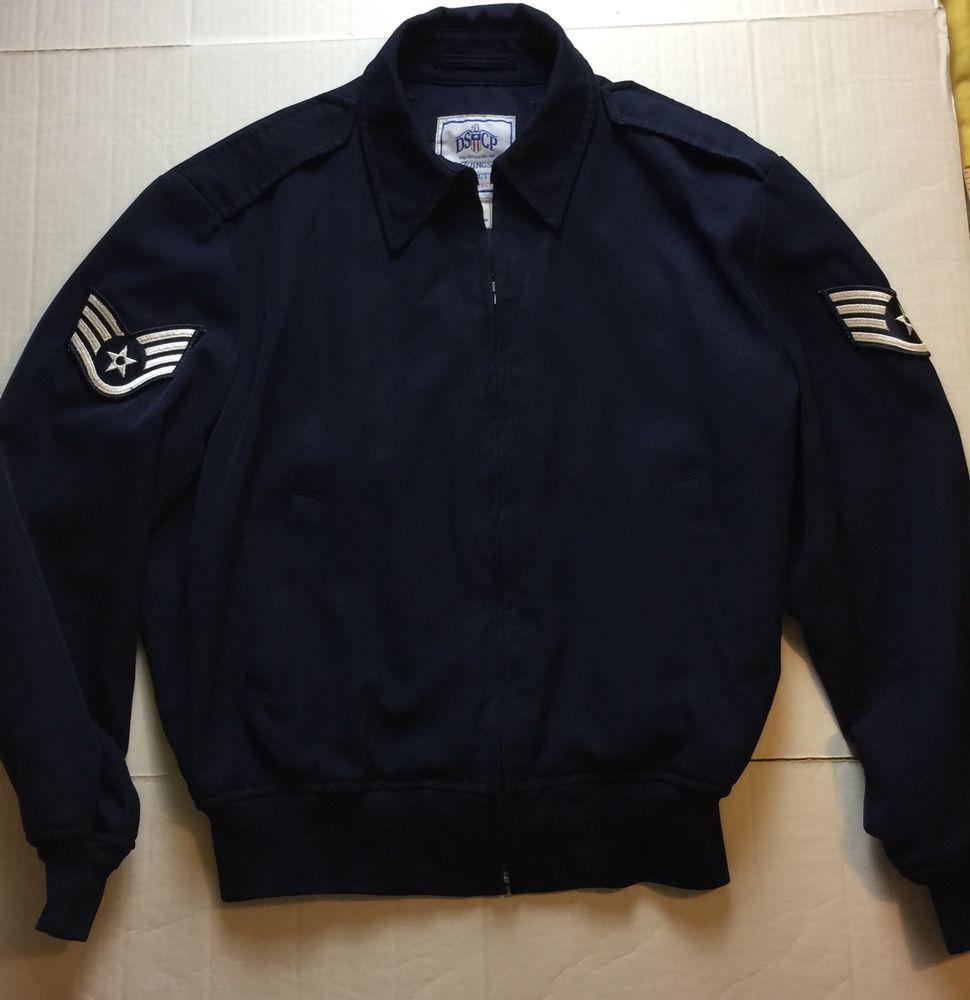 3685fd2e US Air Force Lightweight Short Jacket Mens Size 46S | Ebay ...