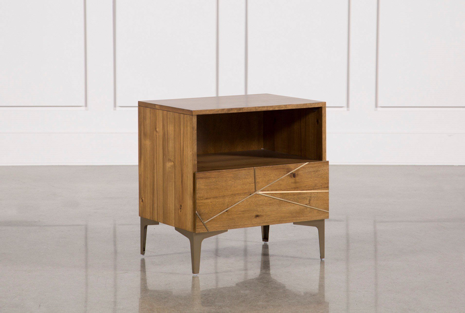 Shop For Talbert 1 Drawer Nightstand At Livingspacescom Enjoy Free Store