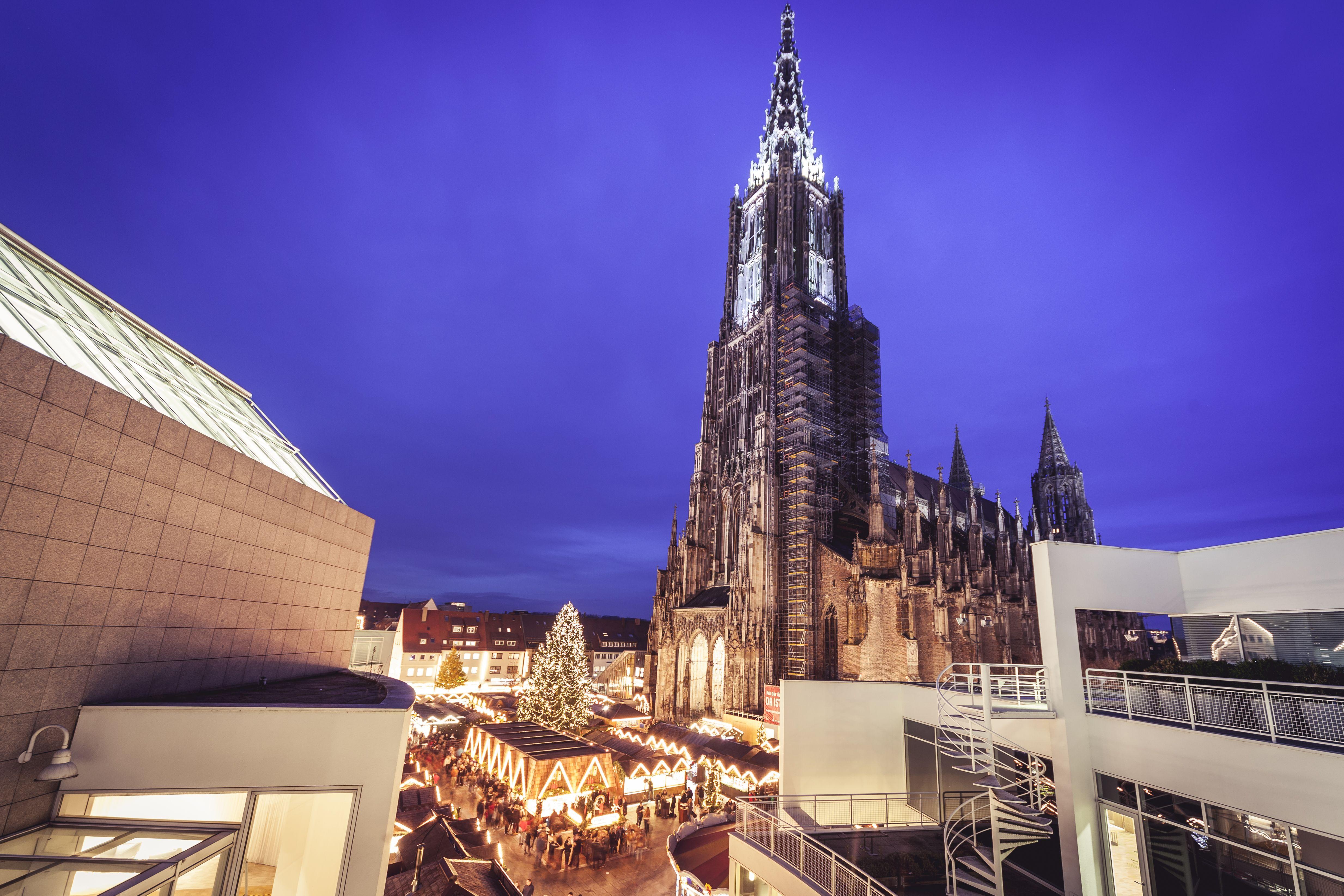 Ulm Weihnachtsmarkt.Der Ulmer Weihnachtsmarkt Zählt Zu Den Schönsten Weihnachtsmärkten