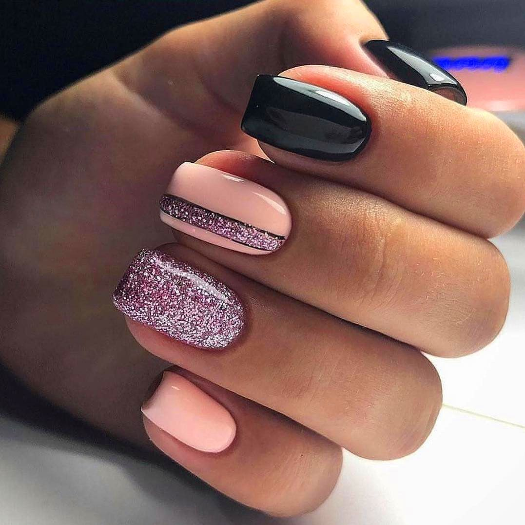 Top 50 Easy Nail Designs For Short Nails Vernis A Ongles