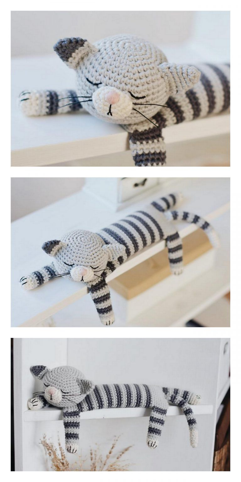 Amigurumi Plush Cat Free Pattern – Free Amigurumi