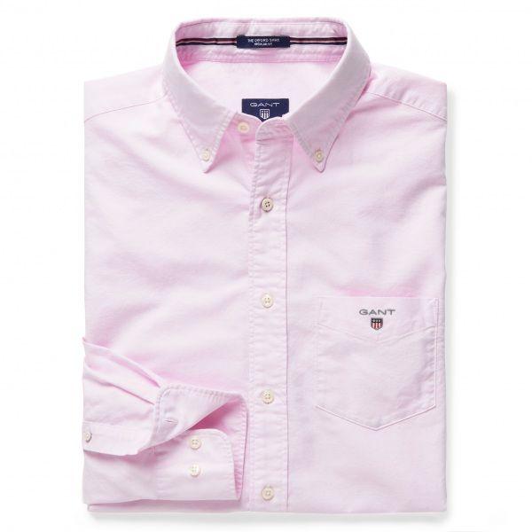 GANT Men's Oxford Shirt Light Pink | Official Site
