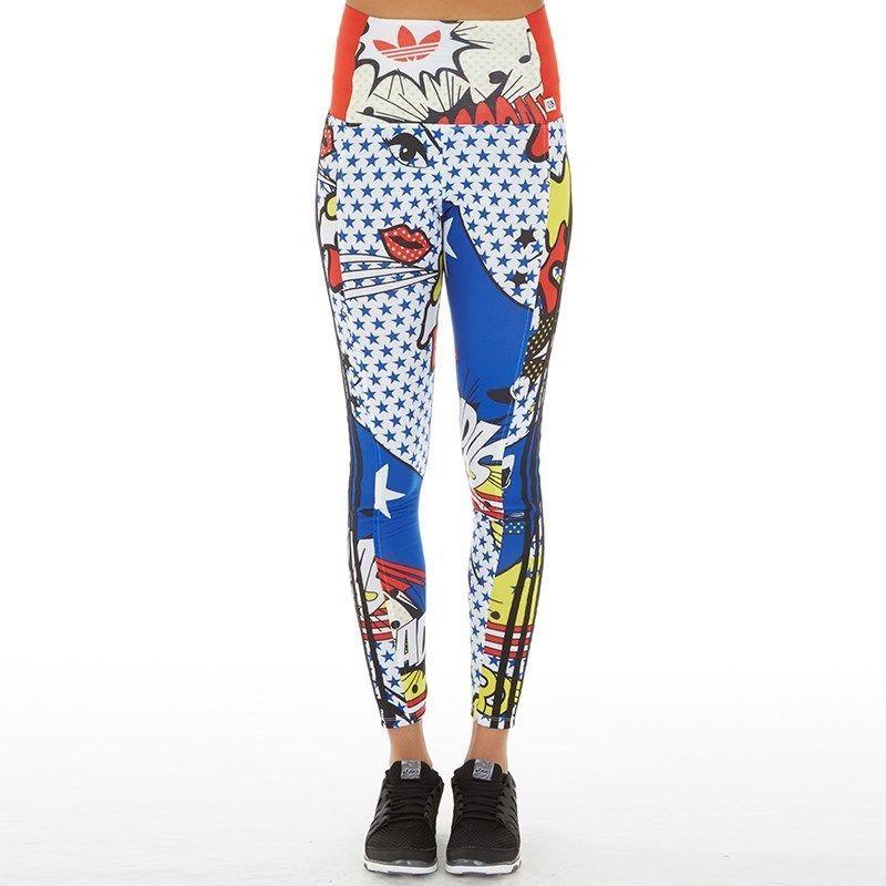 5968c5cc6988b Adidas by Rita Ora Super Leggings Multi Colour UK 14 BNWT #fashion ...
