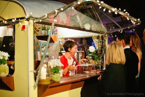 Vintage Coffee truck for an Outdoor event - Manual Labour coffee