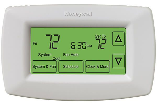 honeywell rth7600d touch screen 7 day programmable thermostat top rh pinterest com Comfort Sentry Thermostat Programmable Comfort Sentry Thermostat Operating Manuals