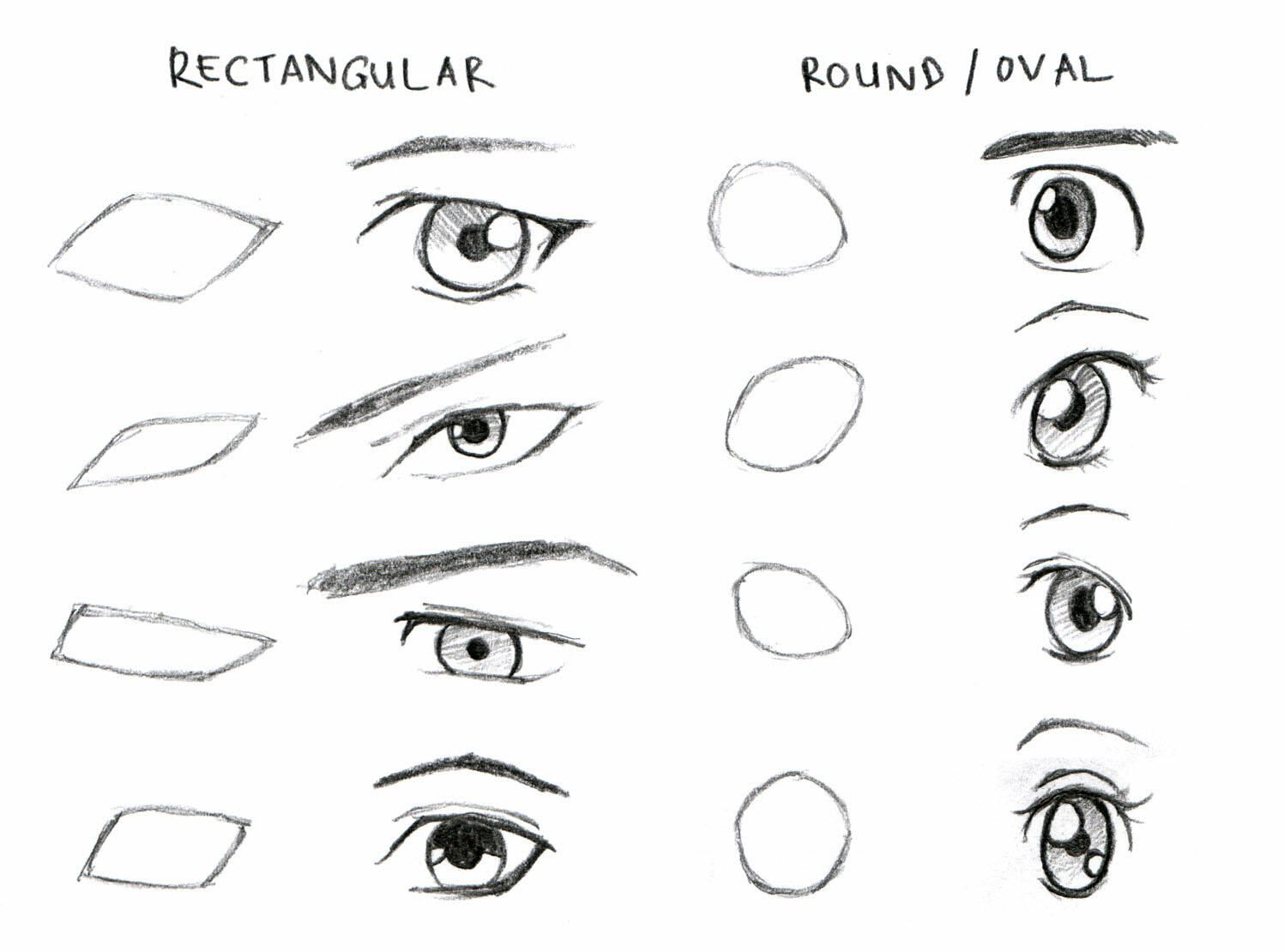 Eyes Drawing In