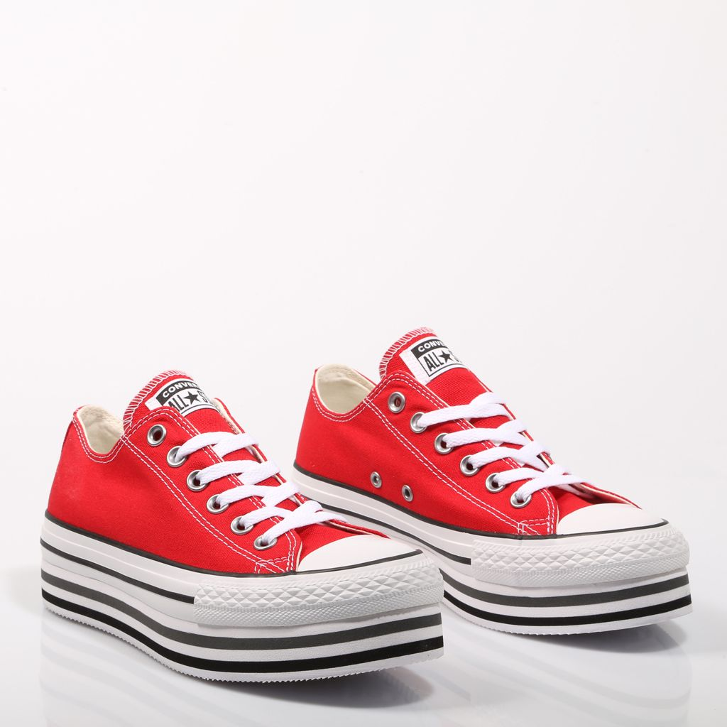 ecuador Dinkarville Teoría de la relatividad  Converse Ctas Platform Layer, zapatillas Rojo | 68986 | Zapatillas converse,  Zapatillas rojas, Converse