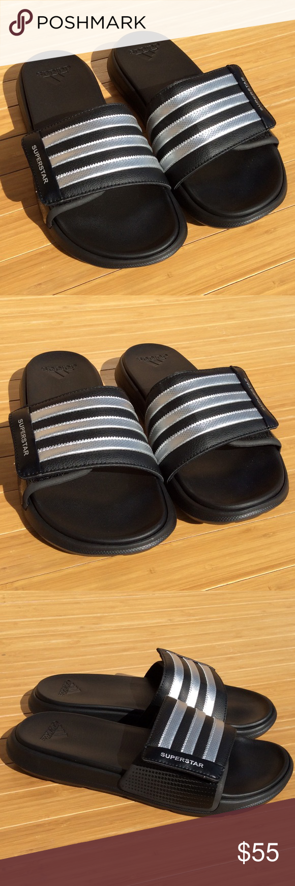 70c14c8239e8 Adidas SUPERSTAR 4G Slides Men s 11 Adidas SUPERSTAR 4G Slides Men s ...