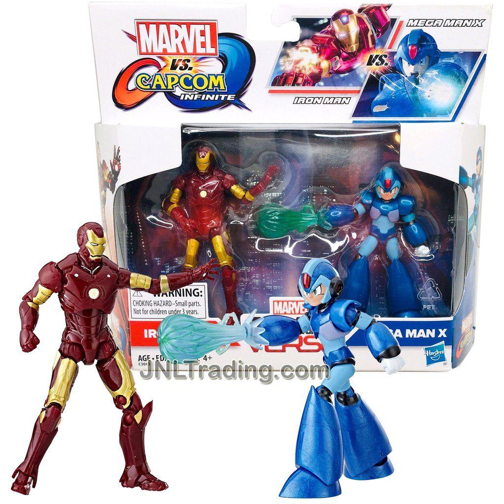 Marvel vs Capcom Gamer Verse Iron Man vs Mega Man 2 pck