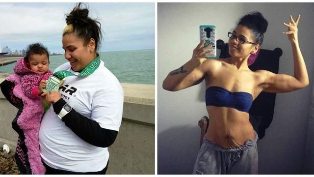 D.L. Hughley - Formally Obese Mom Competes In Fitness Competitions After  Whopping 150lb Weight Loss