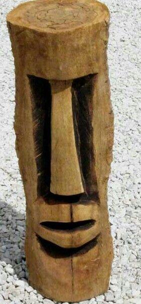 Pin On Tiki Carved Trunks