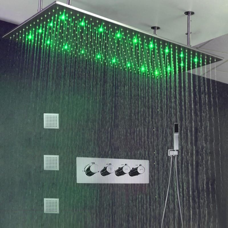 Led Rainfall Shower Free Delivery 14 21 Days Shower Head Material