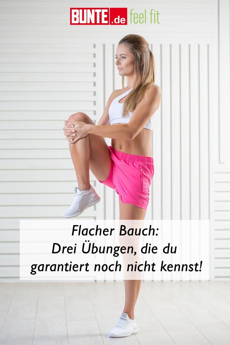 Flacher Bauch: Drei Übungen, die du garantierst noch nicht kennst!