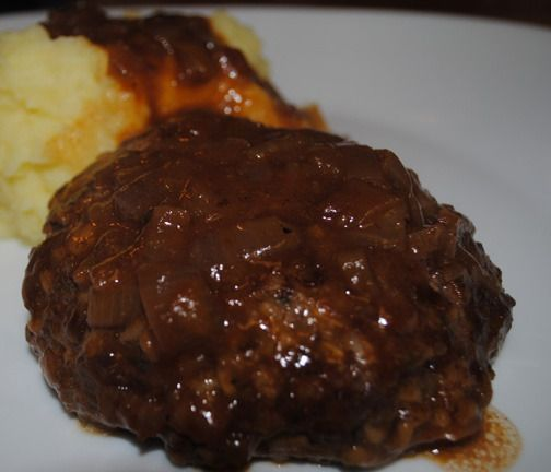 Salisbury Steaks With Caramelized Onion Gravy | Cooking ...