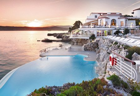 Infinity Pool Hotel Du Cap Eden Roc Antibes France Courtesy