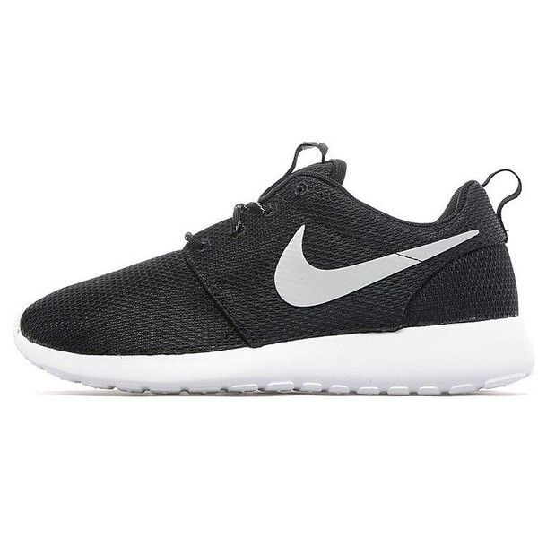 Nike Roshe One Women's (915 NOK) ❤ liked on Polyvore featuring shoes, nike, cushioned shoes, lightweight shoes, nike footwear and nike shoes