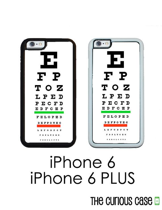 Eye Chart Iphone 6 Iphone 6 Plus Phone Case By Curiouscasegifts