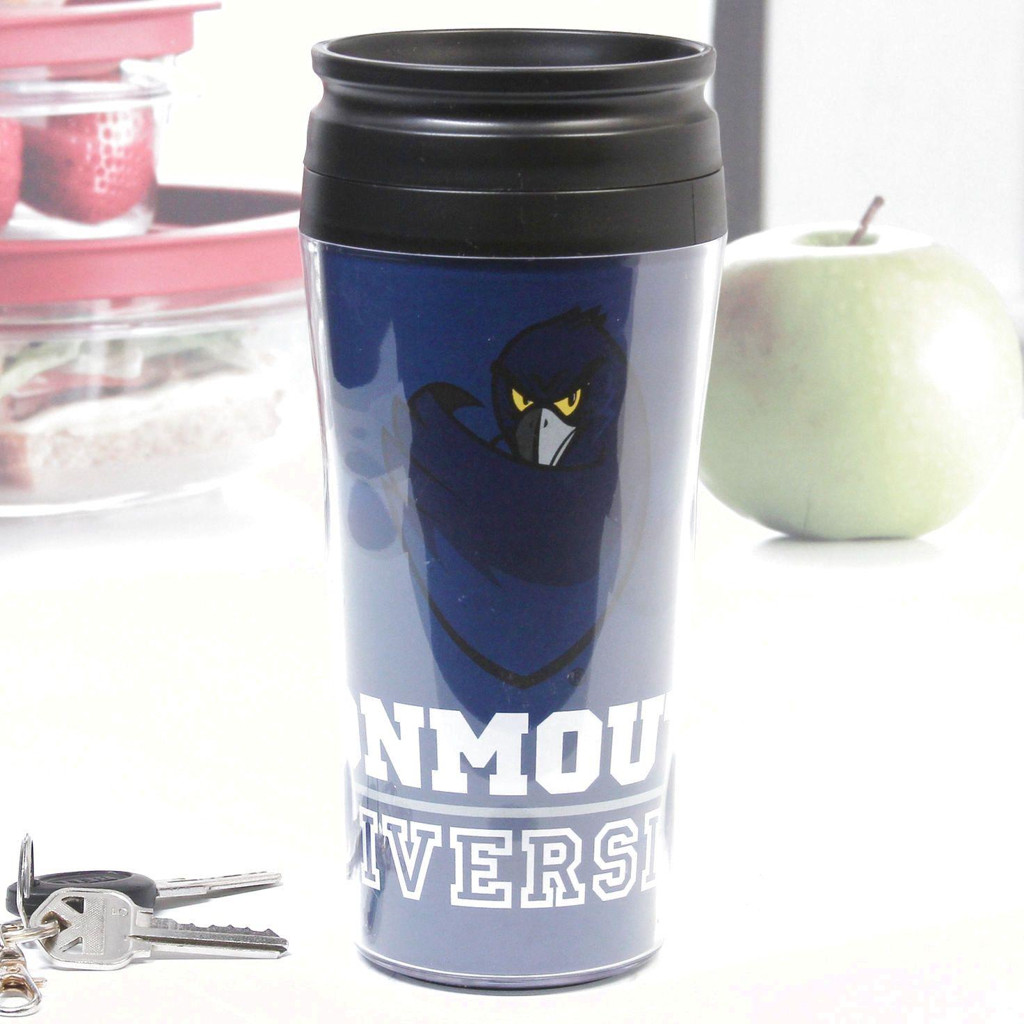 Monmouth Hawks 16oz. Tier Travel Mug with Lid - $10.44