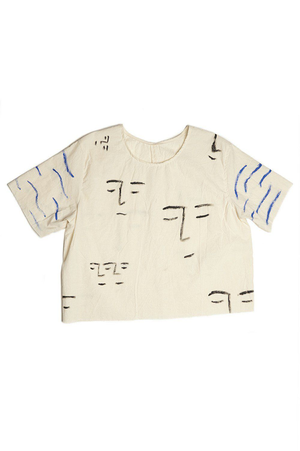 Waves and Faces Top via bfgfshop. Click on the image to see more!