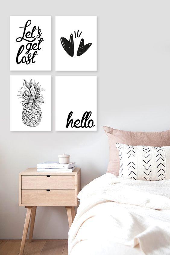 Cuadros Decorativos Para Dormitorios Habitacion In 2018