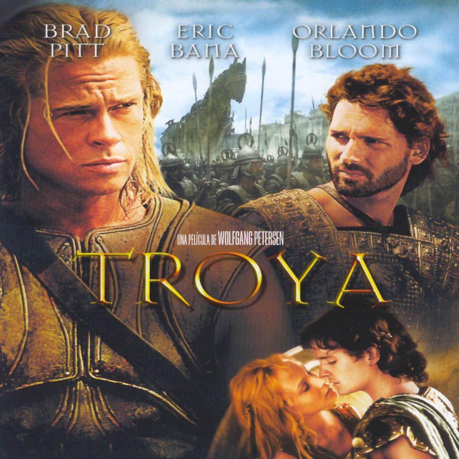 Troya Es Una Película De 2004 Del Género épico Dirigida Por Wolfgang Petersen Protagonizada Por Eric Bana Orla Troy Movie Brad Pitt Full Movies Online Free