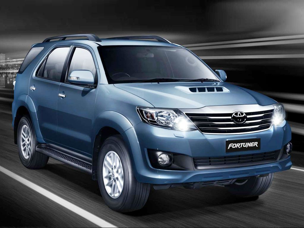 The New Toyota Fortuner 2.5L in India at 24.44 Lakhs