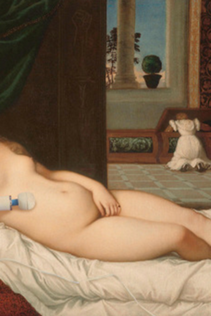 Glorious Tumblr Provides The Nudes Of Art History With The Vibrators Theyve Long Desired