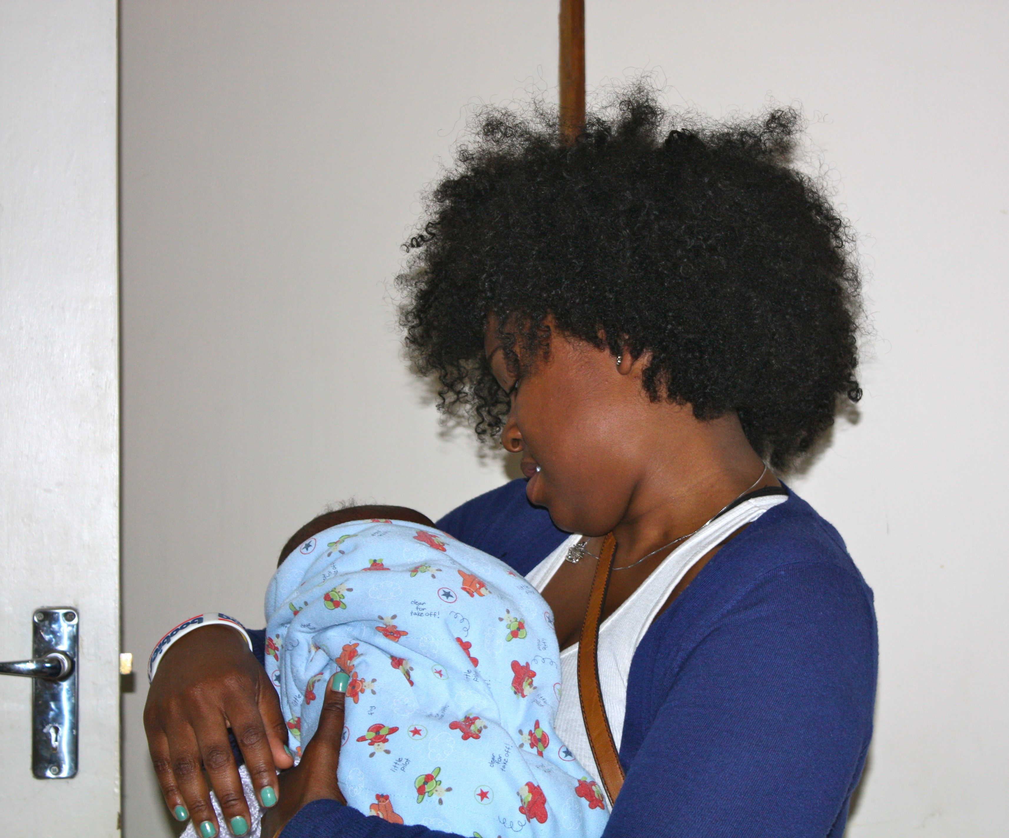 Interns can visit the Crisis Nursery to play with young babies in the care of the government