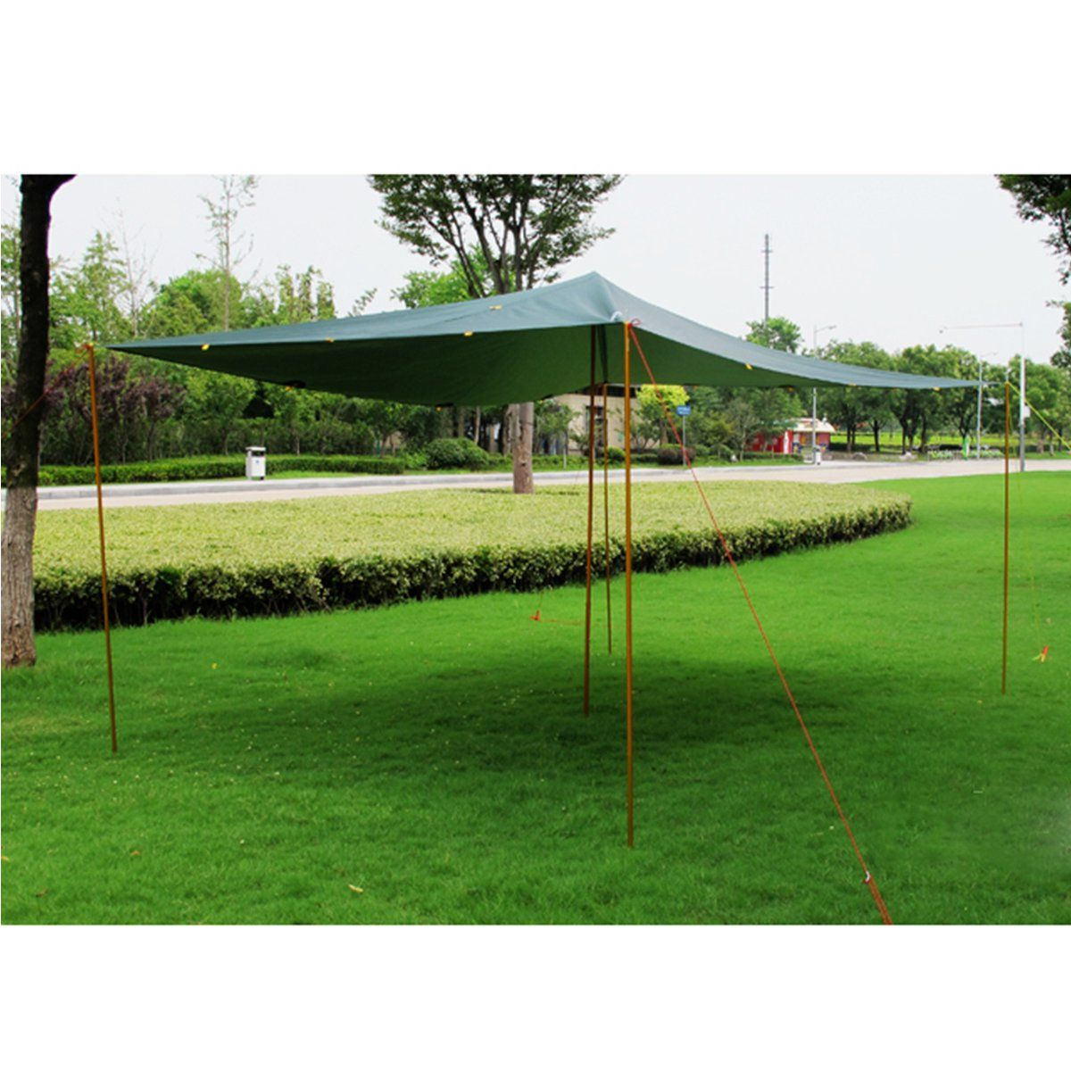 Azarxis Tarp Tent Poles Aluminium Alloy Supporting Replacement Rod Portable for Tarp C&ing Hiking Shelter Awning Pack of 2 Poles Gold 6.56ft *** For more ...  sc 1 st  Pinterest & Azarxis Tarp Tent Poles Aluminium Alloy Supporting Replacement Rod ...