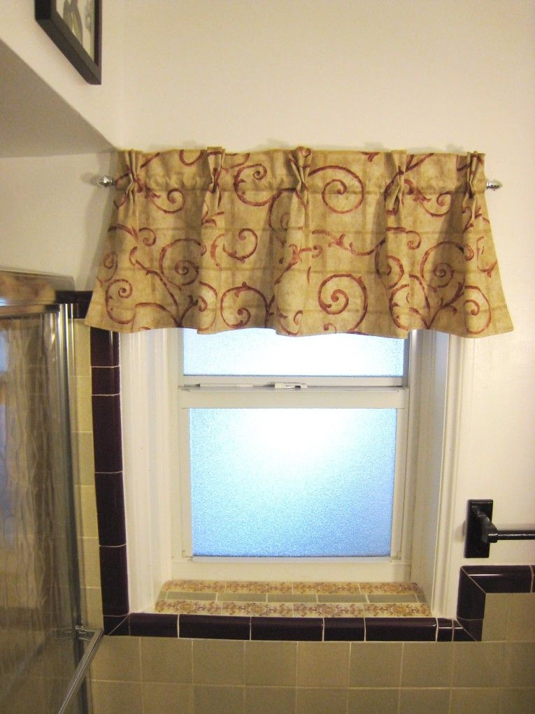 15 Amazing Valances For Small Bathroom Windows Pic Ideas Interior Design Ideas By Naspa Small Bathroom Window Window Valance Small Window Curtains