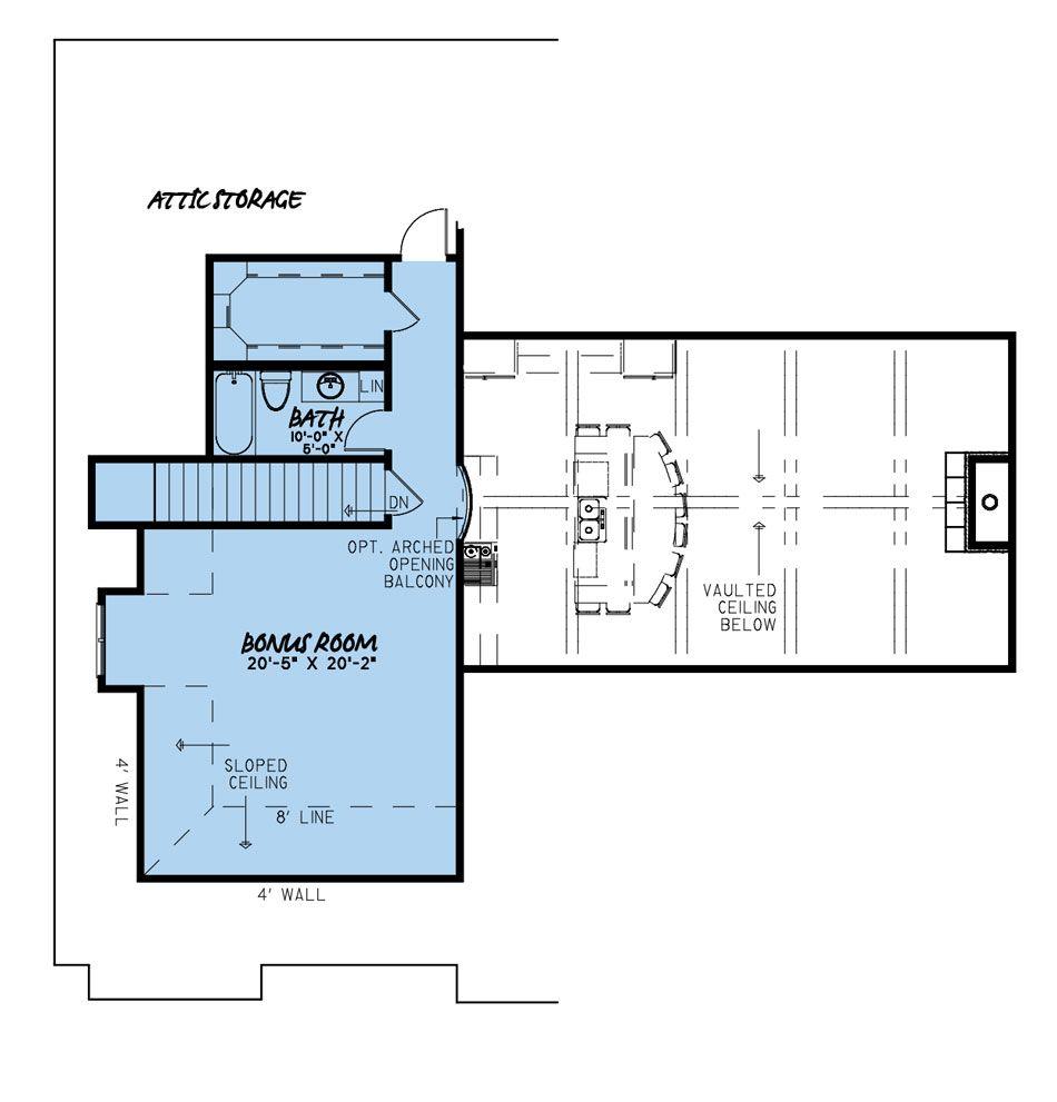 House Plan 5049 Coal Creek Place Rustic House Plan