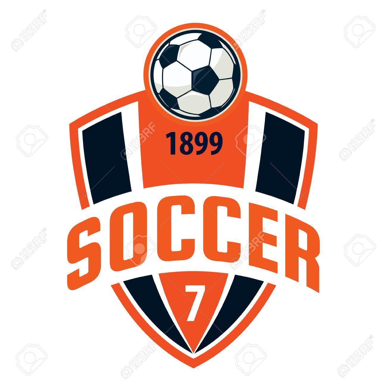 Football Badge Logo Template Design Soccer Team Vector Illuatration Spon Logo Template Football Badge Design Logos Sport Team Logos Juventus Logo
