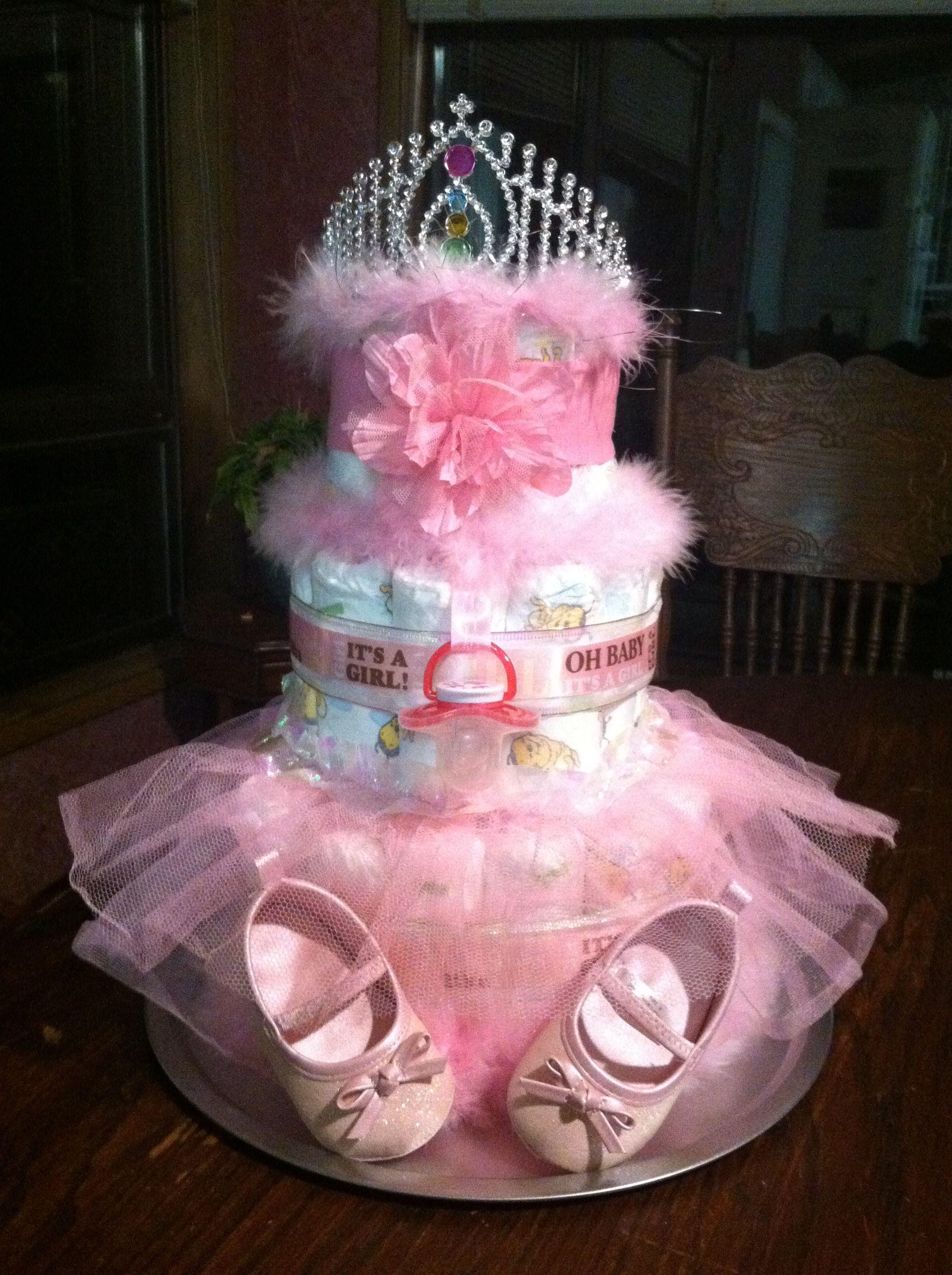 Ballerina Princess Diaper Cake By Ashlie Pieren Goetze