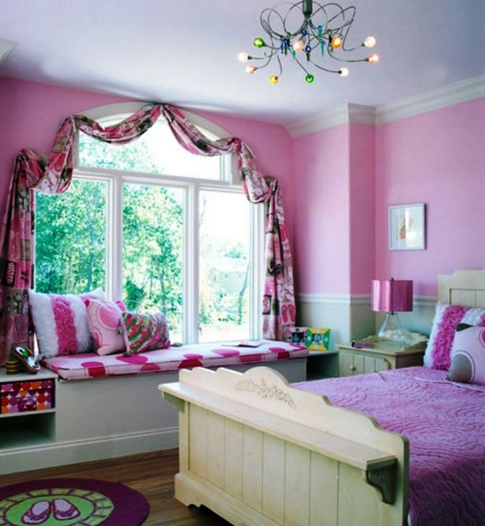 Charming Single Window Curtain Bedroom Design  Kids Room Ideas New Curtains For Teenage Girl Bedroom Inspiration Design