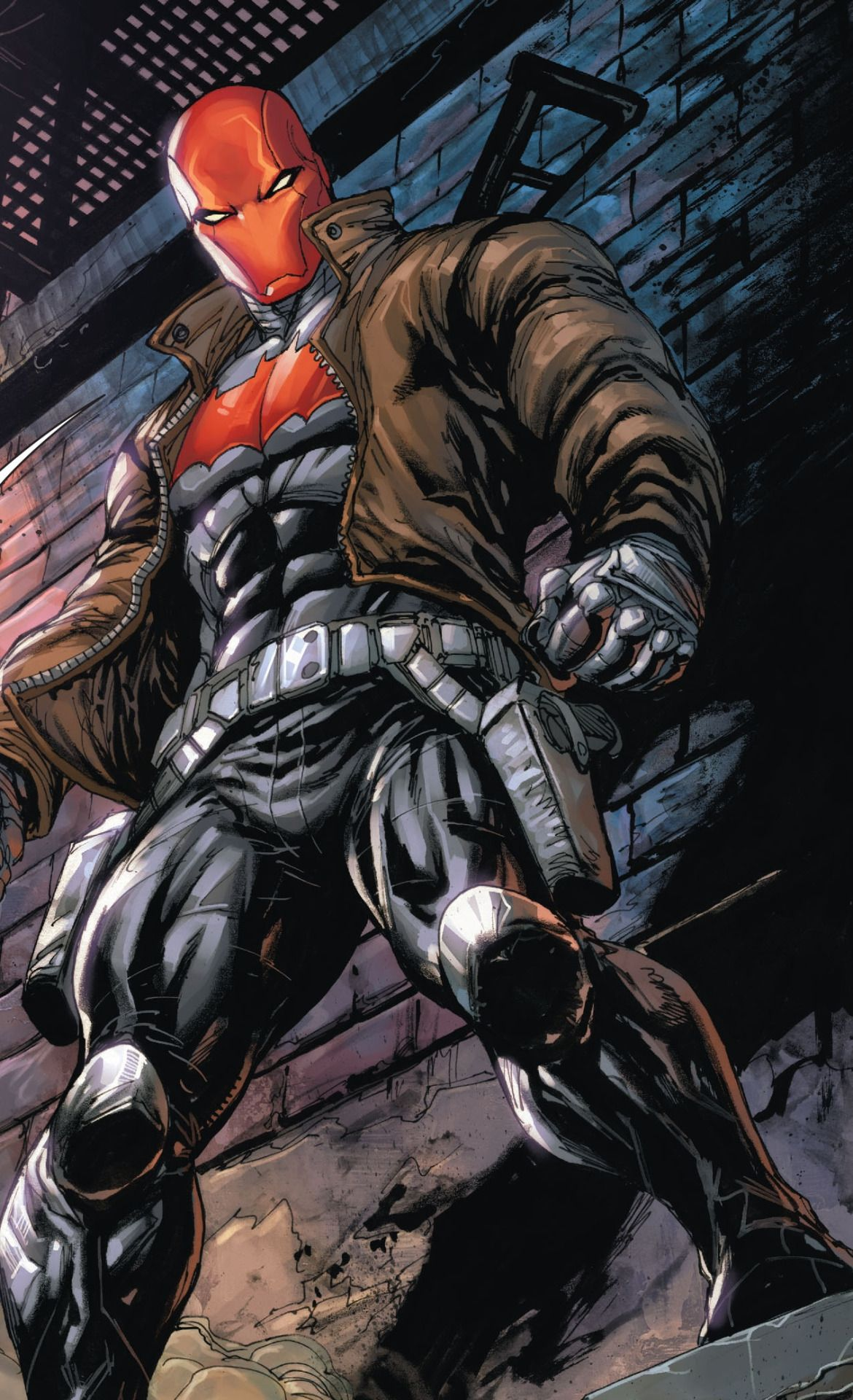 jason todd in deathstroke 15 jason todd red hood pinterest red