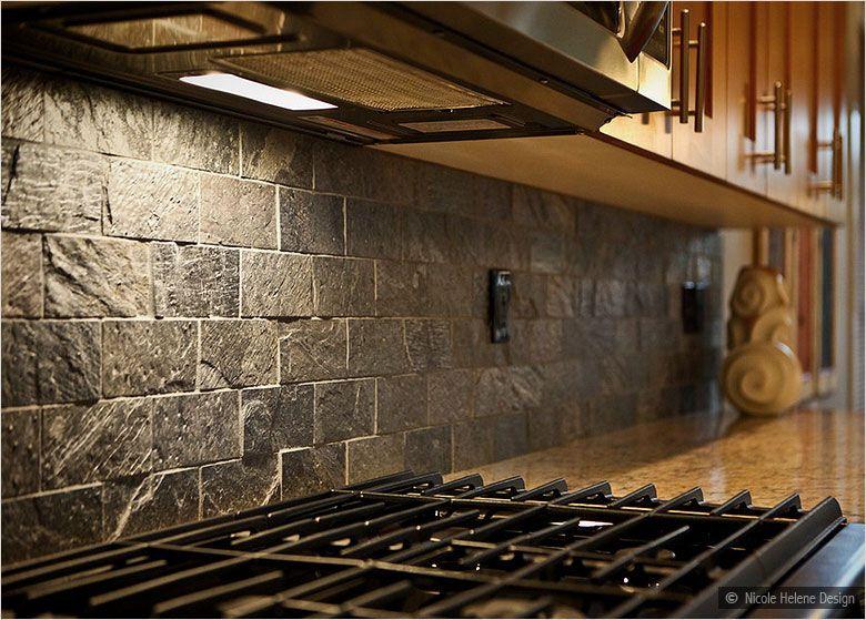 Kitchen Backsplash Rock slate tile backsplash | custom orders: we'll be credited the full