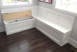 Kitchen Storage Bench Seat Plans In 2020 With Images Kitchen Storage Bench Kitchen Corner Bench Bench Seating Kitchen