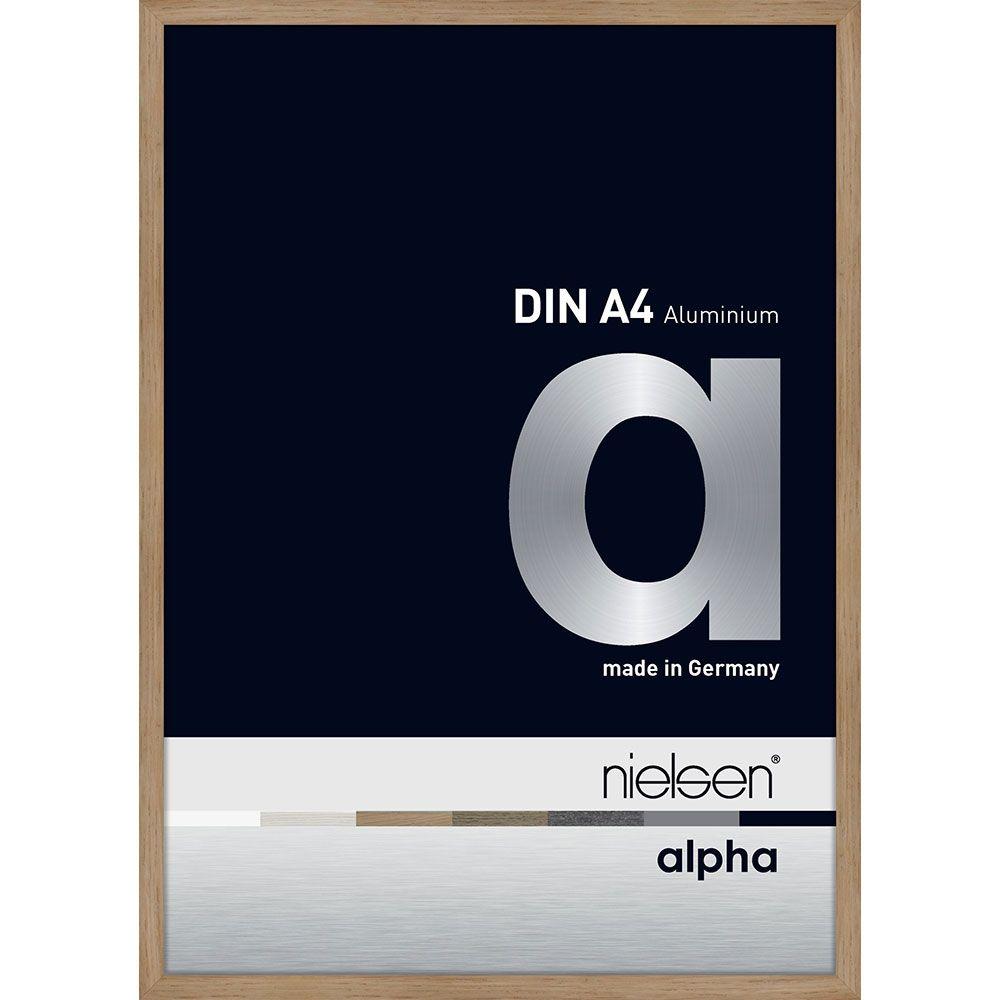 Nielsen Alurahmen Alpha 59,4x84,1 Eiche (furnierte Oberfl�che)