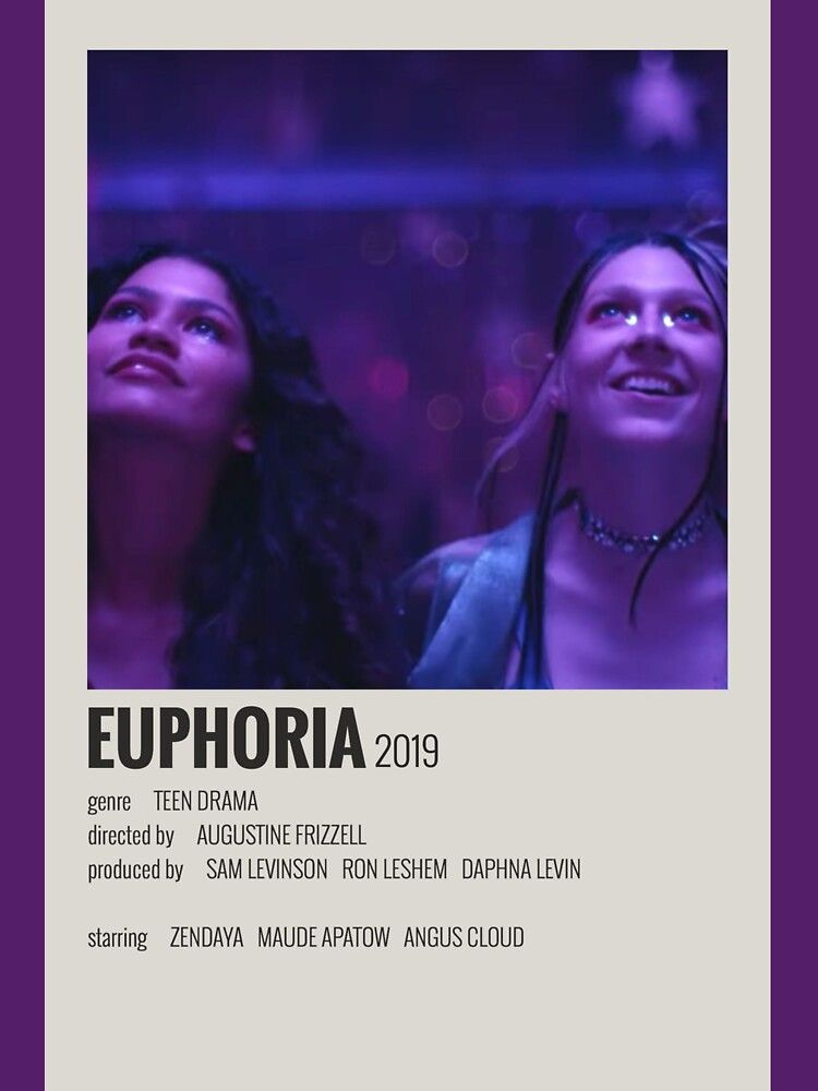 Euphoria Poster Essential T-Shirt by imogen ripley