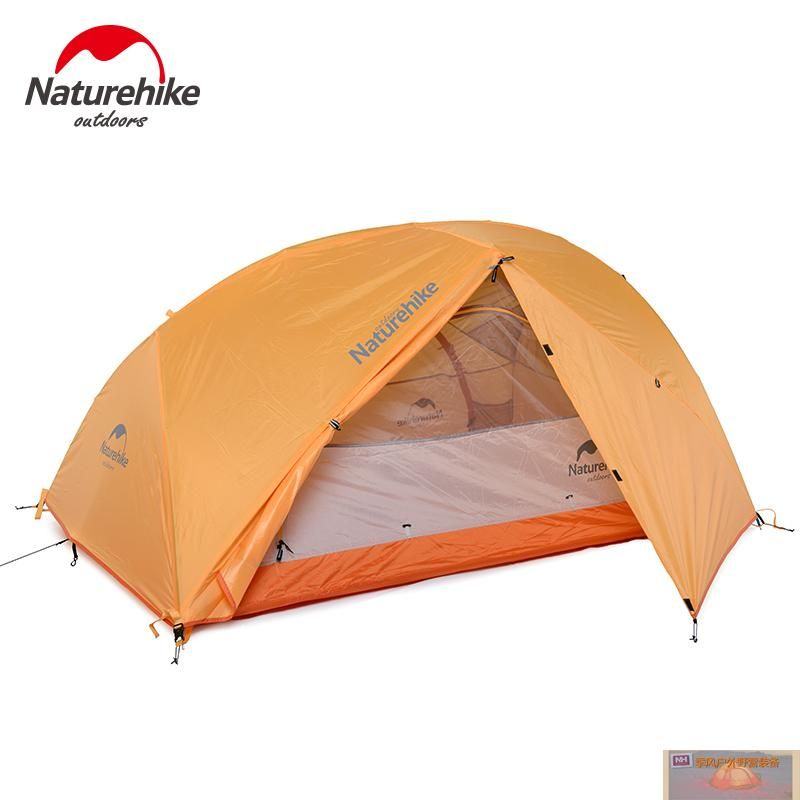 NH XINGHE2 super light outdoor tent 2 people double layers outdoor C&ing Tent rain-proof  sc 1 st  Pinterest & NH XINGHE2 super light outdoor tent 2 people double layers outdoor ...