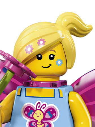 Genuine Lego Minifigures la serie de películas de sirena Marsha