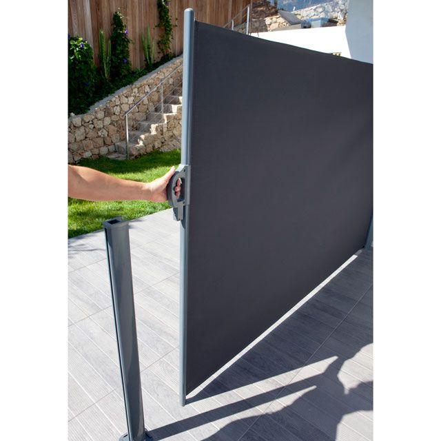 Brise Vue Retractable Liso L 3 X H 1 60 M Brise Vue Terrasse Jardin Brise